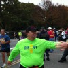 The final high-fives from Melissa, my sister, Ali, and her family were the motivation I needed to get over the finish line at the Marine Corps Marathon, my first marathon.